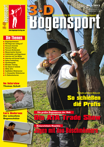 Zeitschrift – 3D-Bogensport 1/2013