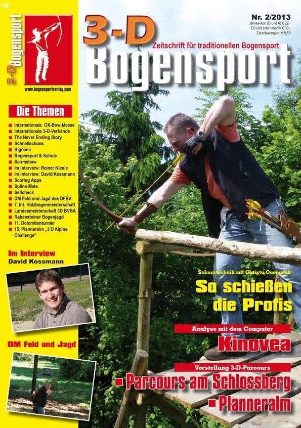 Zeitschrift – 3D-Bogensport 2/2013