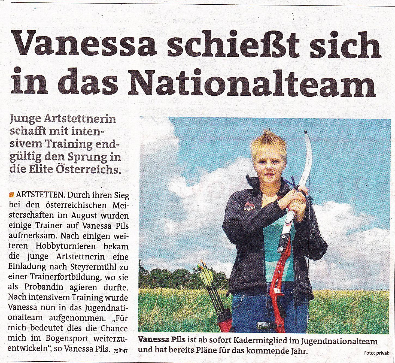 Vanessa Zeitungsartikel 25112013