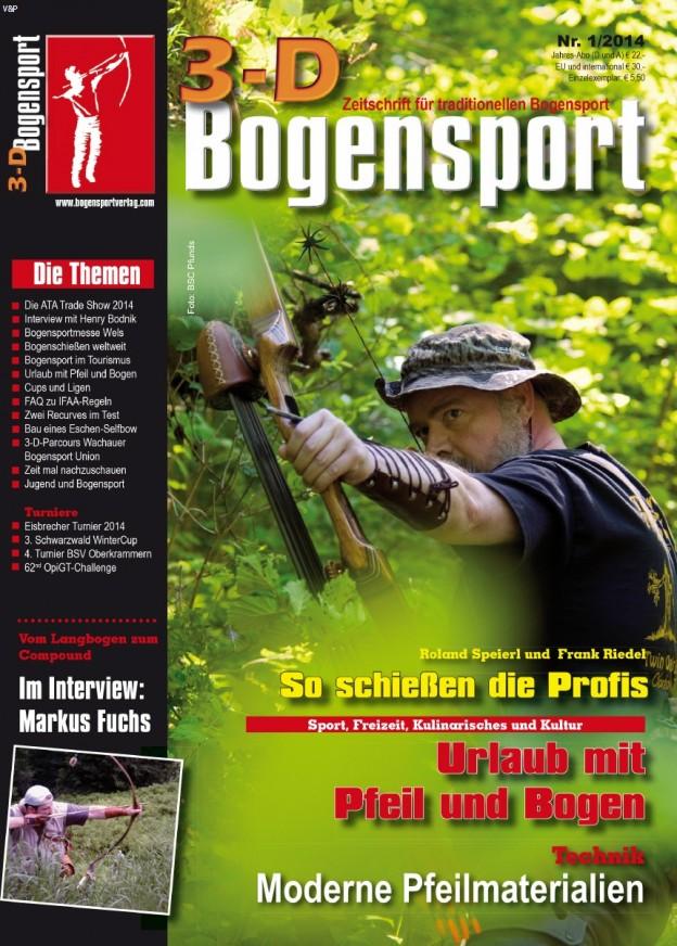 Zeitschrift – 3D-Bogensport 1/2014